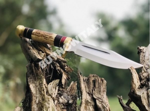 Custom Handmade D2 Carbon Steel Hunting knife