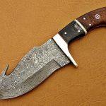 Handmade Skinner Knife Gut hook Gift for Husband