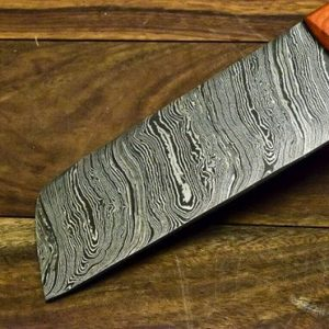 Handmade Damascus Steel chef knife, Meat Cleaver, Chef knife